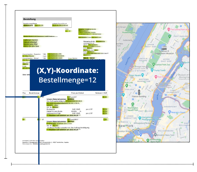 PDF-Mapping vs. Google Maps